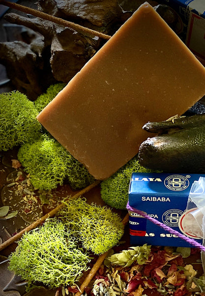 Nag-Champa Artisan Mud Soap with Incense