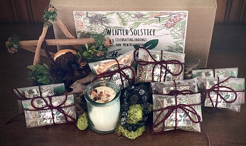 Winter Solstice Herbal Ally Box