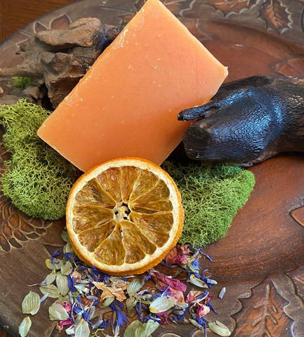 Orange Patchouli Artisan Soap