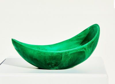 Resin Seed Bowl - Leaf
