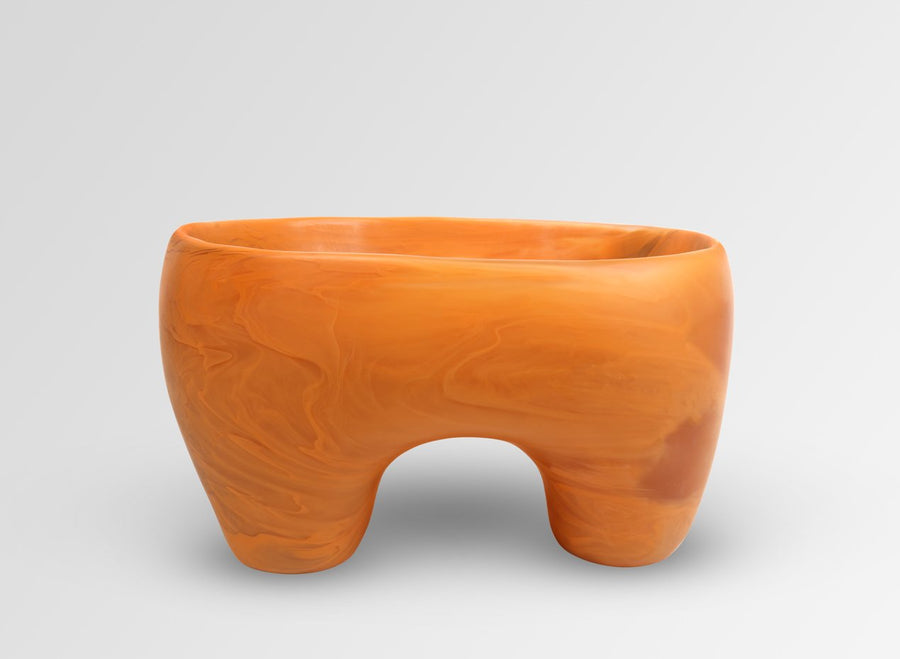Large Offering Bowl - Terracotta Swirl