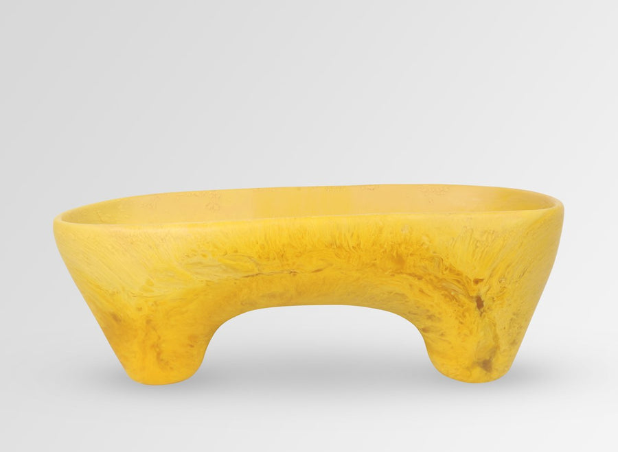 Long Offering Bowl - Honeycomb