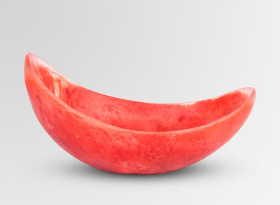 Resin Seed Bowl - Melon Swirl