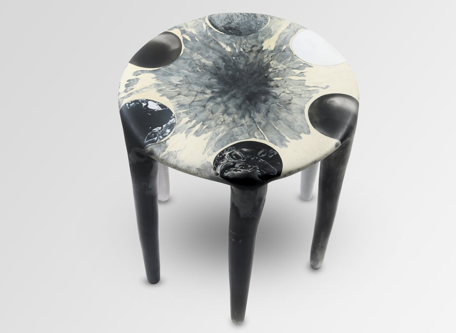 Liquid Moon Side Table - Dusk