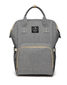 A Top Selling Nappy Backpack- Grey