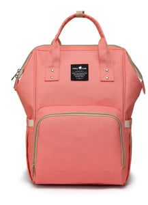 A Top Selling Nappy Backpack- Coral