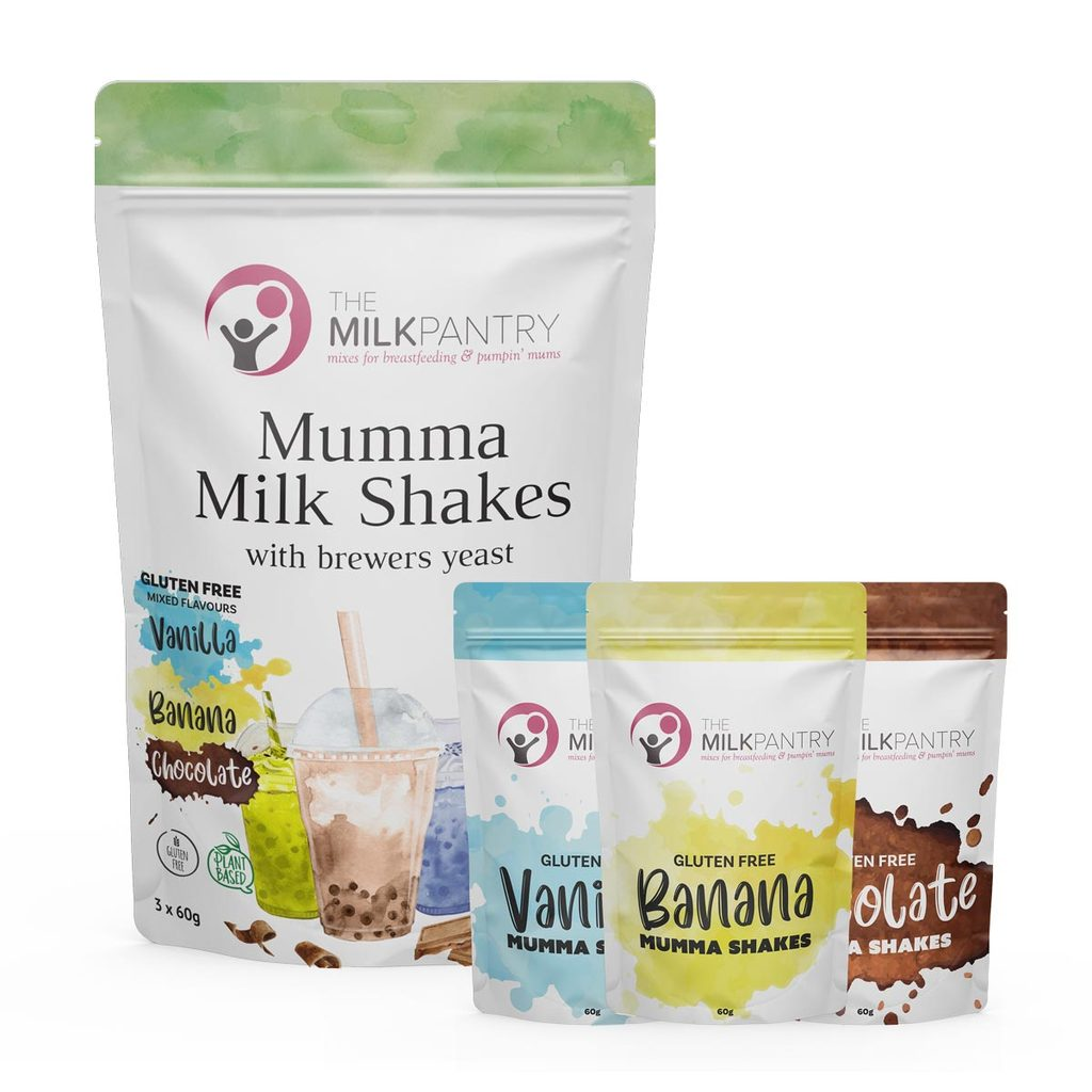 The Milk Pantry Mumma Shakes Gluten Free - Mixed 3x60g