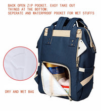 A Top Selling Nappy Backpack- Blue