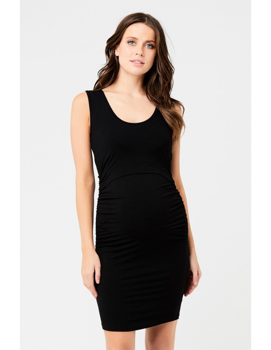 Ripe Maternity Sleeveless Nursing Tube Dress