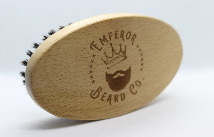 Bamboo Bristle Beard Brush