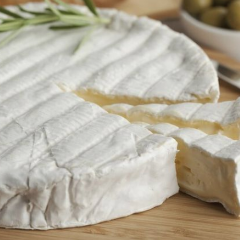 500g Double Cream Brie Wheel - Made in Fiji