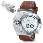 Montre Briquet USB Rechargeable