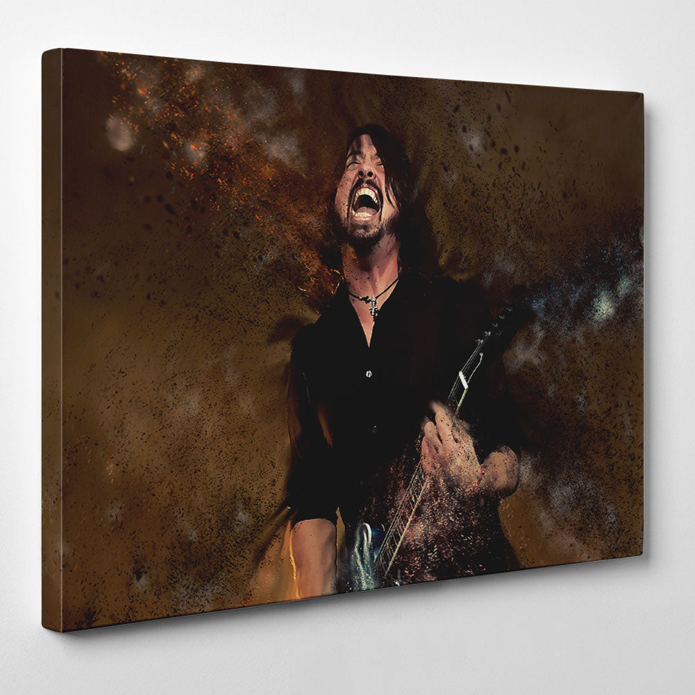 Dave Grohl Foo Fighters Canvas
