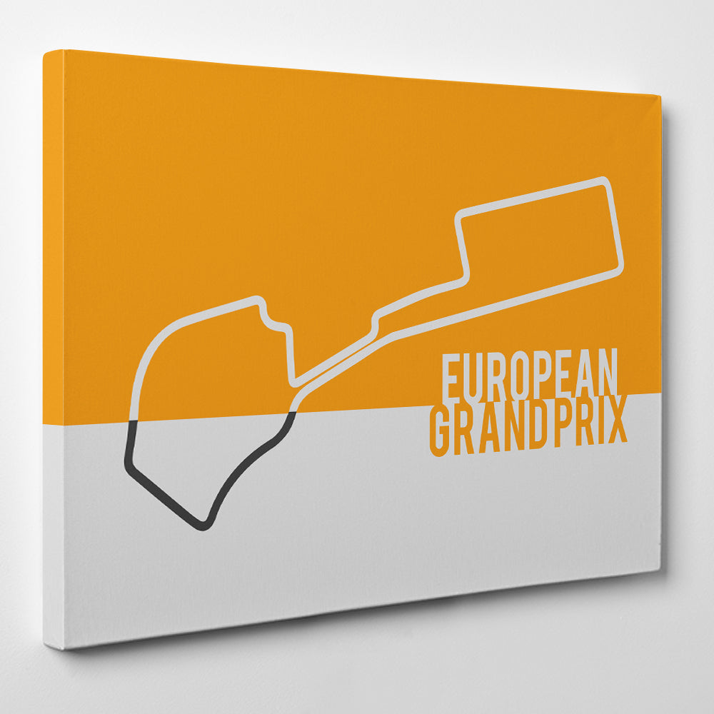 European GP F1 - Formula one Canvas