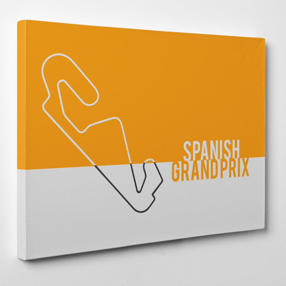 Spanish GP F1 Track - Formula one Canvas