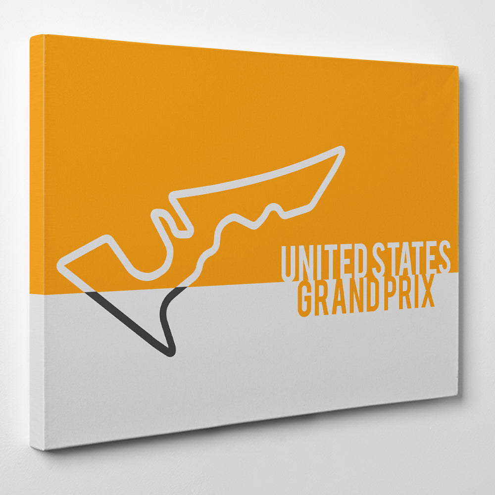 United States GP F1 - Formula one Canvas