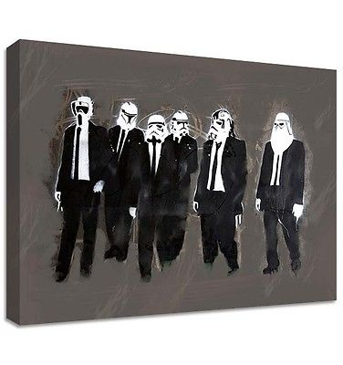 Storm Troopers, Resevoir Dogs Canvas