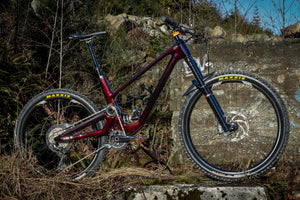 Dream Ride: Jonathan Van Appelen's Custom Painted 'Marble Red' Forbidden Druid