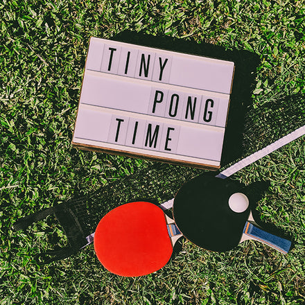 Why You Should Take Your TinyPong™ Outdoors
