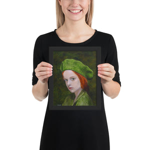 Child in Green - Framed
