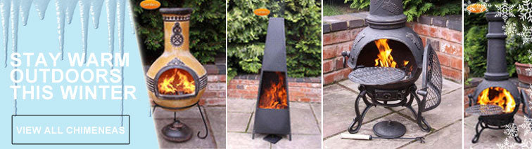 Simply Patio Furniture - Chimeneas
