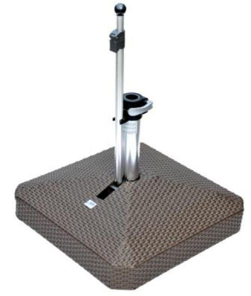 Liro Polyrattan Patio Parasol Base - 100kg