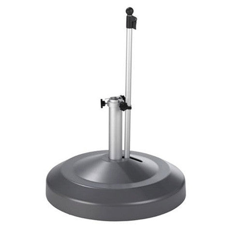 Liro Patio Parasol Base - Fixed Clamp - 60kg