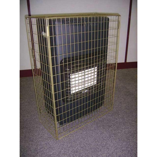 Black Lifestyle Cabinet Heater Guard