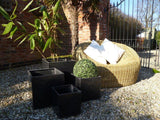 Rearsby Pot Fibre Clay Planters - Set of 4