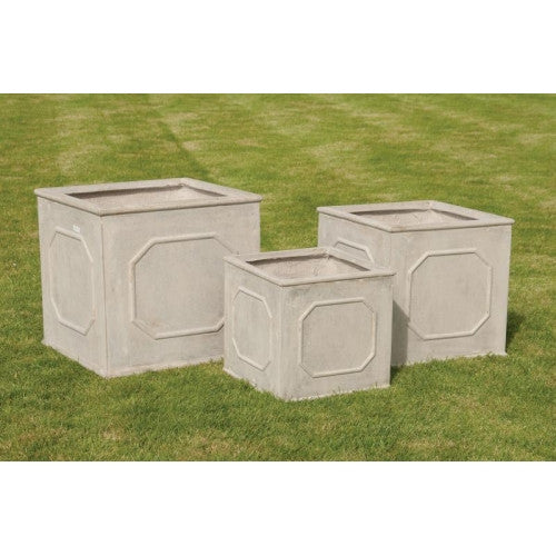 Set of 3 Square Classic Planters
