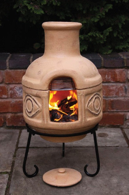 Gardeco - Cozumel Yellow Chiminea