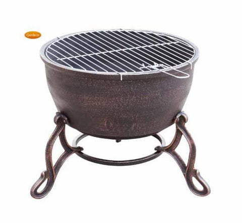 Gardeco - Elidir Cast Iron Fire Bowl
