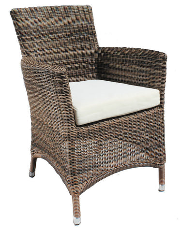 Manhattan Cozy Bay Cappucino Corner Armchair