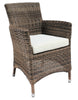 Jamaica Cozy Bay Java Honey Armchair