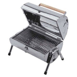 Explorer Lifestyle Barrel Charcoal Barbecue