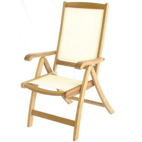 St. Tropez Royalcraft Ivory Recliner Chair