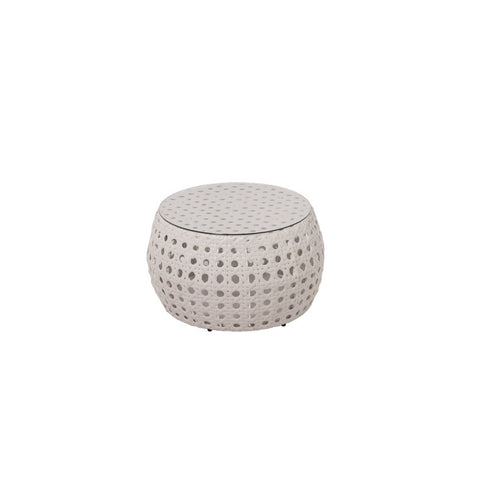 Peble Cozy Bay White Super Weave Coffee Table