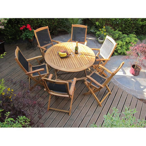 Hawaii Cozy Bay 4 Seasons 6 Seater Table & Chair Set