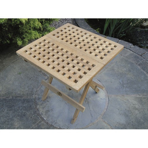 Teak Rondeau Leisure Chess Table