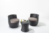 Funky Stacking Rattan sofa set