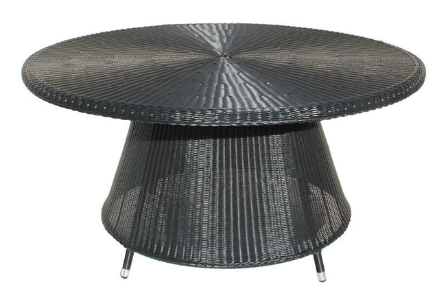 Hawaii Cozy Bay Black Core Weave Table