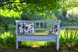 Lyon Bench in Colonial White Wash