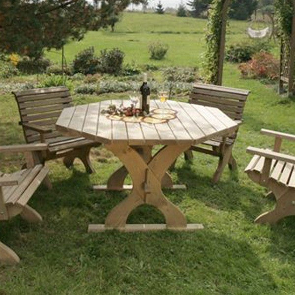 Nowy Targ Octagonal Garden Table
