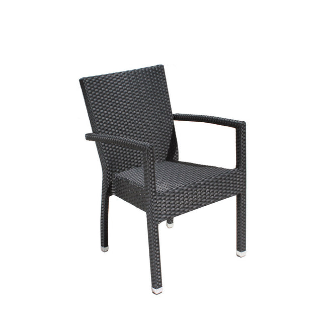 Bistro Cozy Bay Cumberland Black Stackable Chair