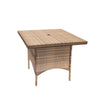 Bistro Cozy Bay Arabica Asian Teak Table
