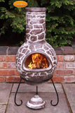 Gardeco - Cantera Large Brown Chiminea