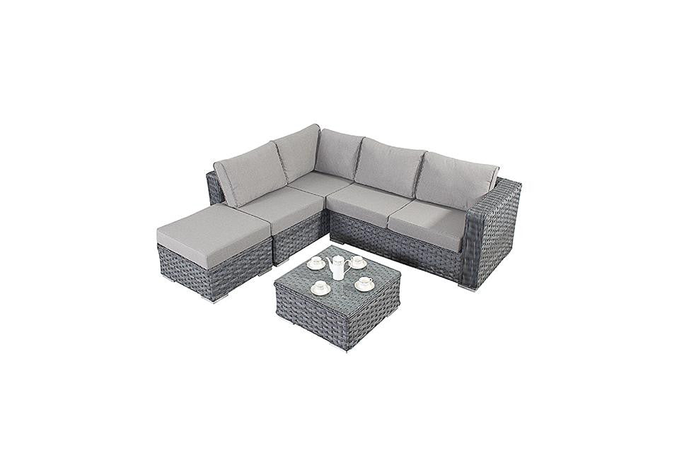 Port Royal Platinum Corner Sofa