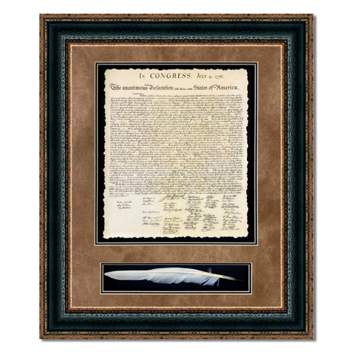 United States of America Declaration with Quill