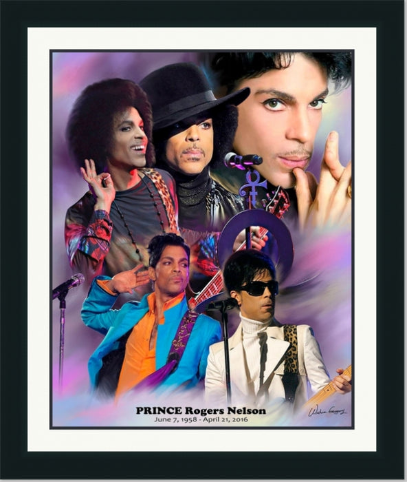 Prince | Music Artist & Legend | Wall Art Print 11X14, 20X24, 24X30