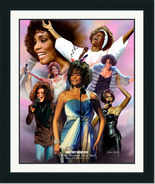 Whitney Houston | R&B Legend | Wall Art Print 11X14, 20S24, 24X30